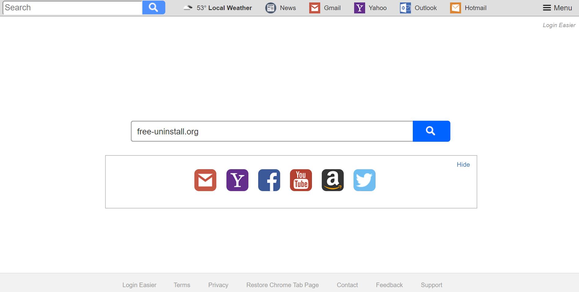 Search.searchleasy.com Hijacker