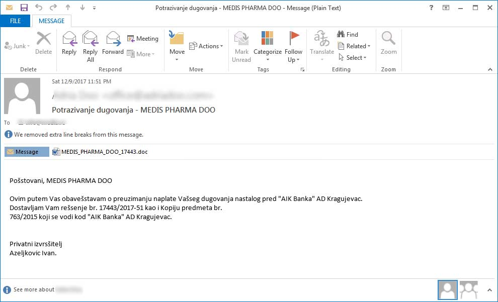 file spider ransomware spam e-mail