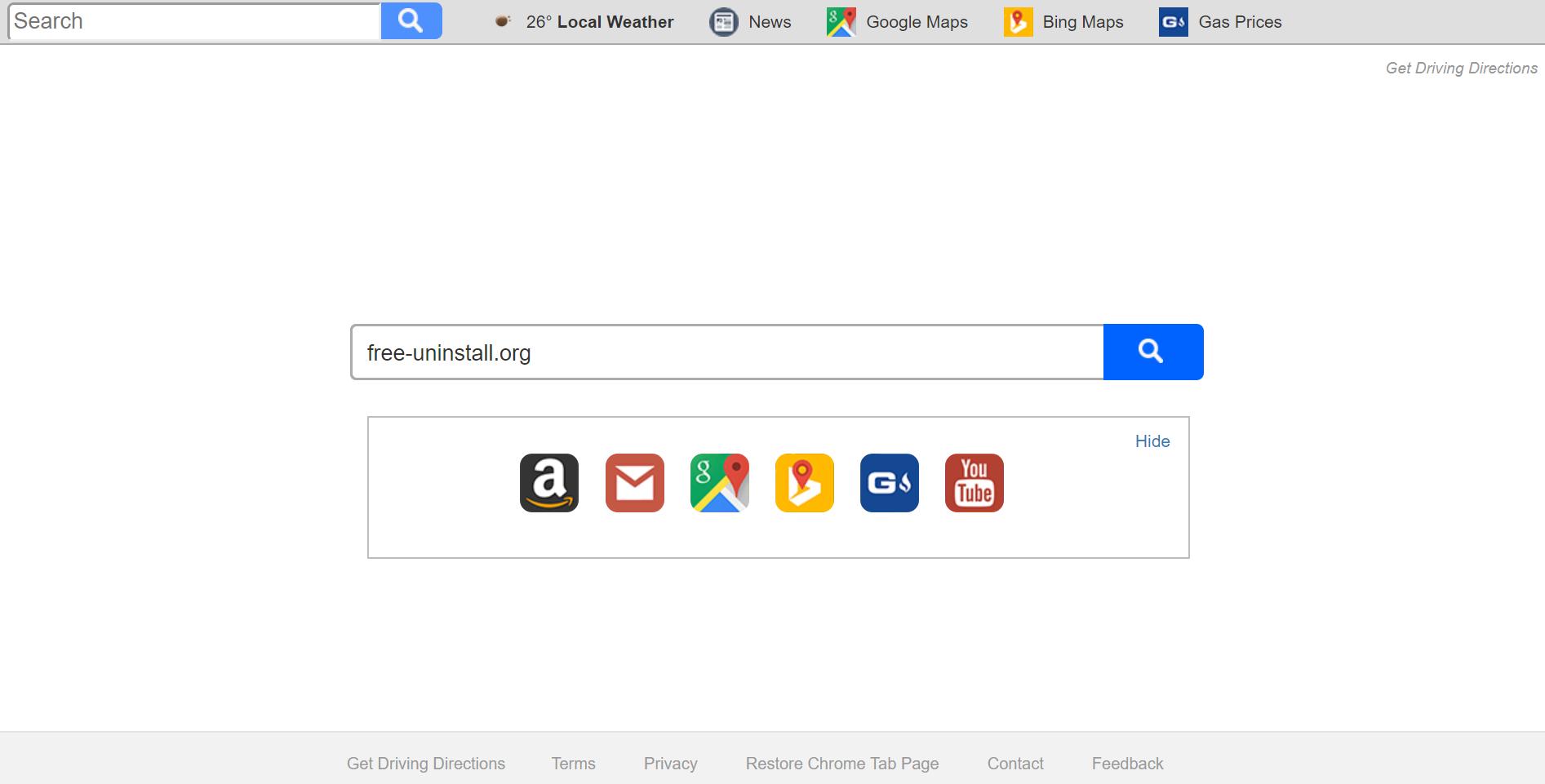 Search.searchgdd.com Hijacker