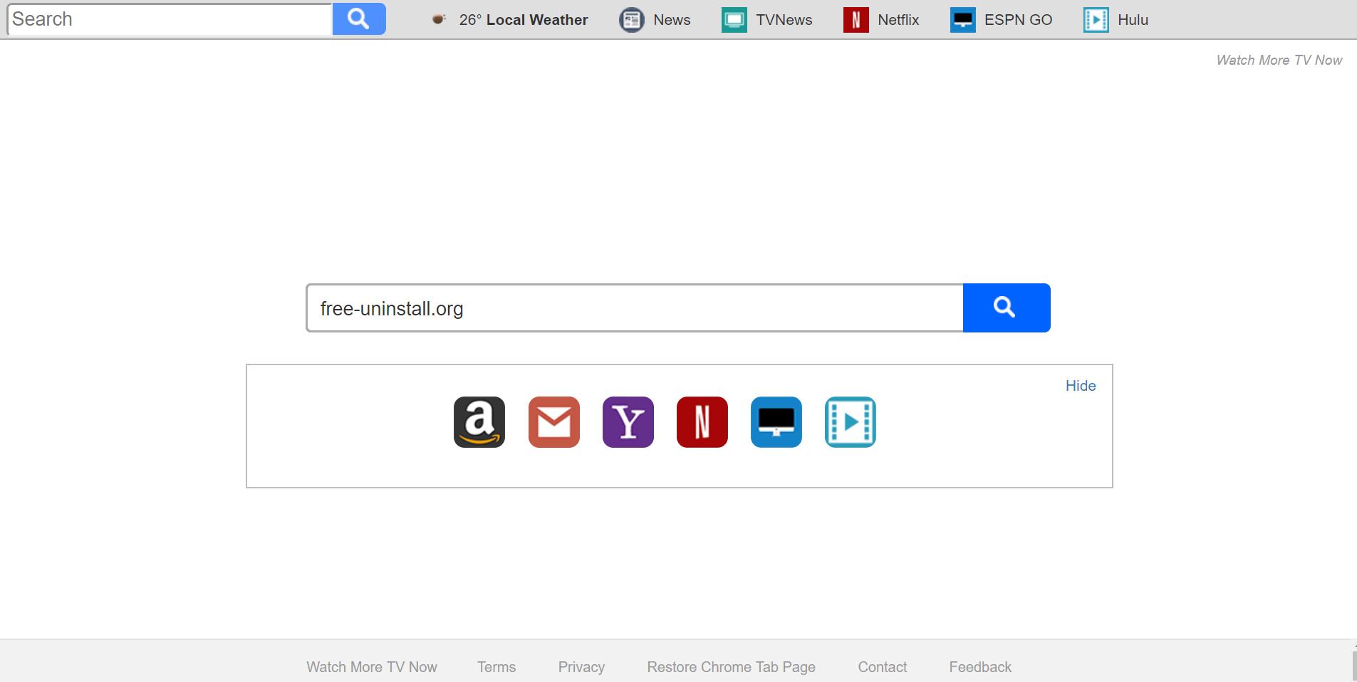 Search.searchwmtn.com Hijacker