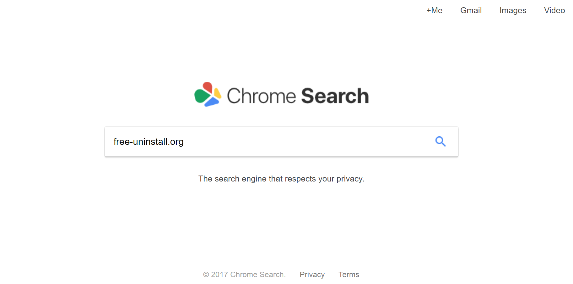 Chromesearch.net Hijacker