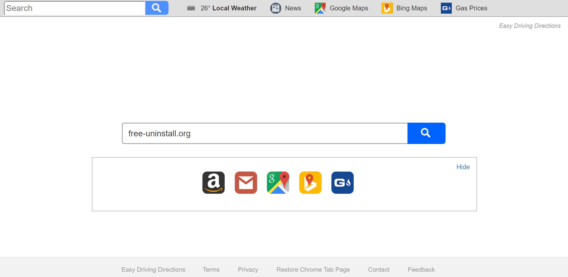 Search.searchedd.com Hijacker