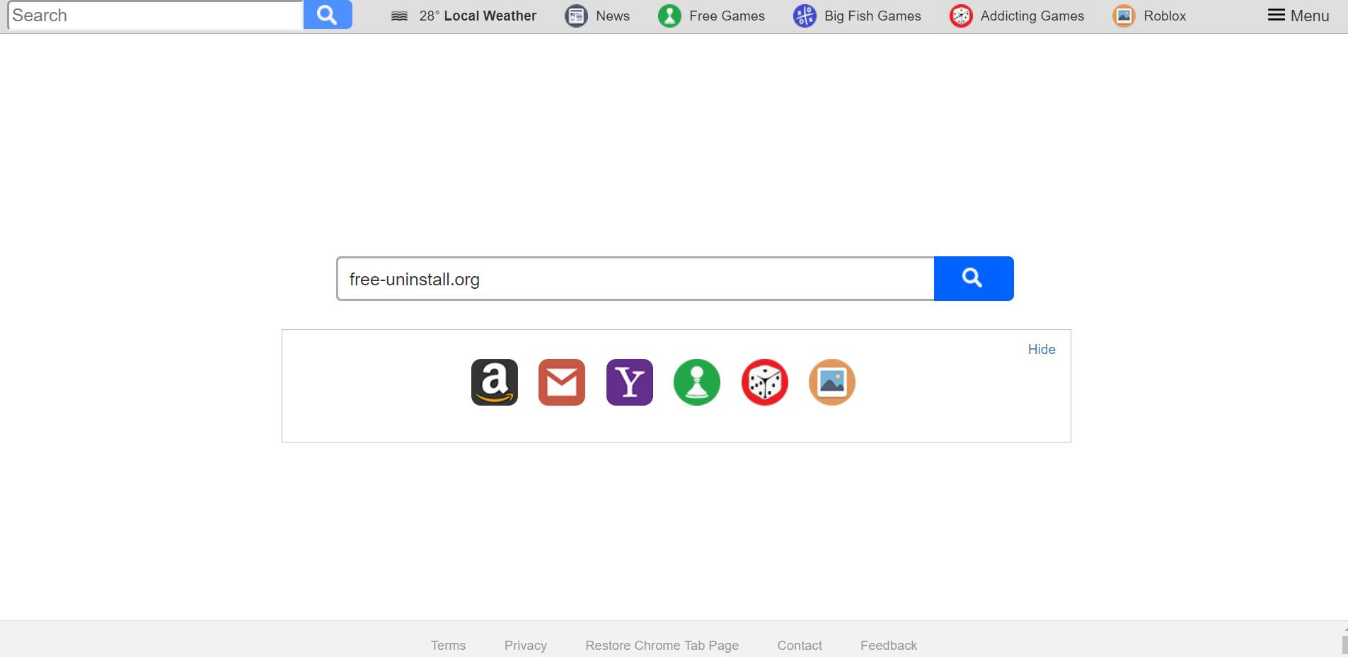 Search.hyourtransitinfonow.com Hijacker