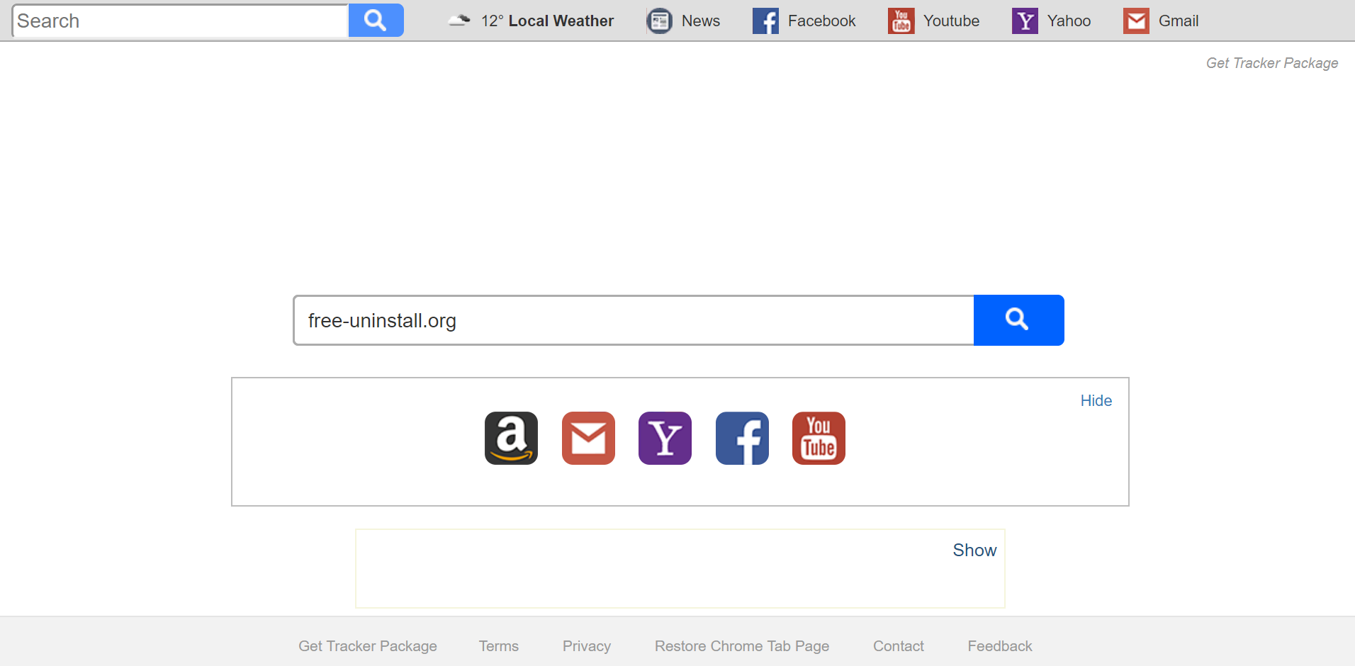 Search.searchgtp.com Hijacker