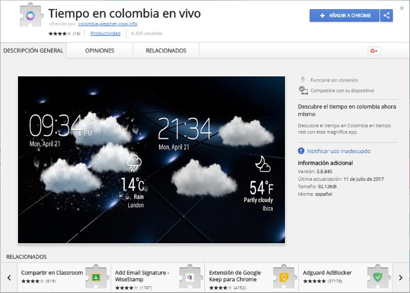 ads by Tiempo en colombia en vivo