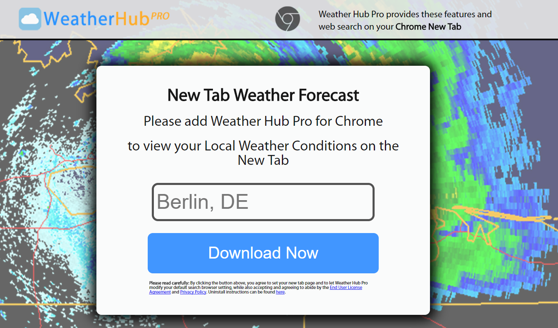 ads by Weather Hub Pro