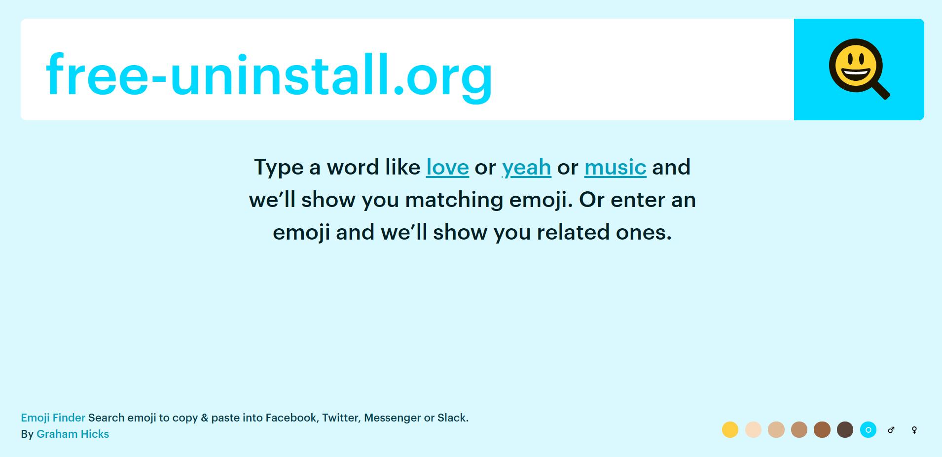 Emojifinder.com Hijacker