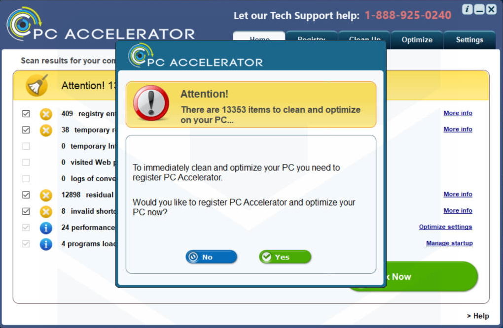 PC Accelerator PUP