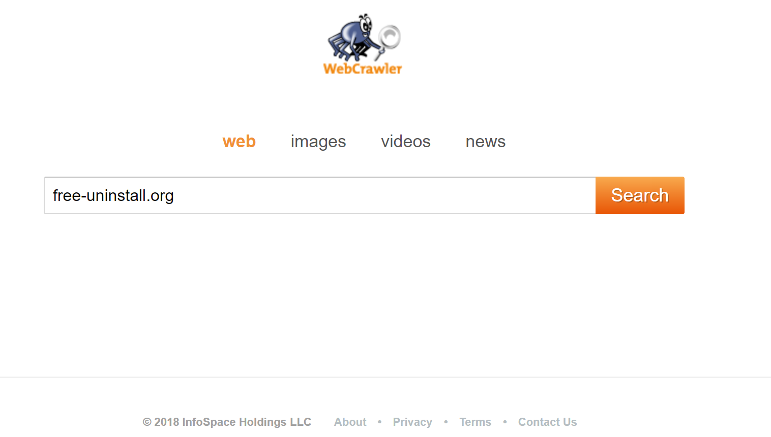 Webcrawler.com Hijacker