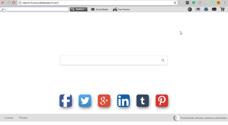 Search.funsocialtabsearch.com Hijacker
