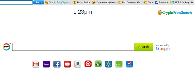 Cryptopricesearch.com Hijacker