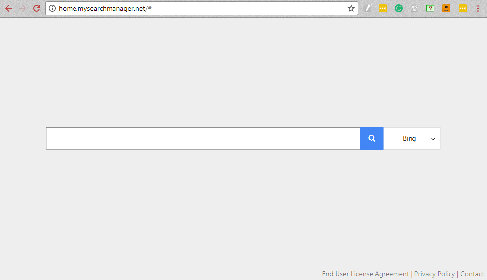 My Search Manager