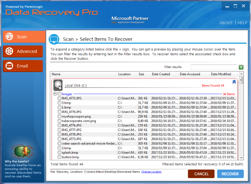 data recovery pro gui