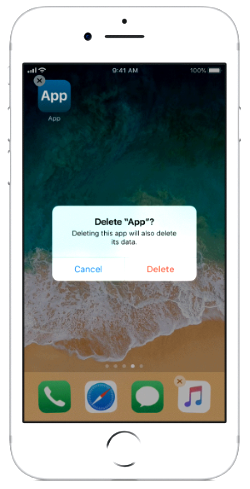 remove MyWebFace from ios