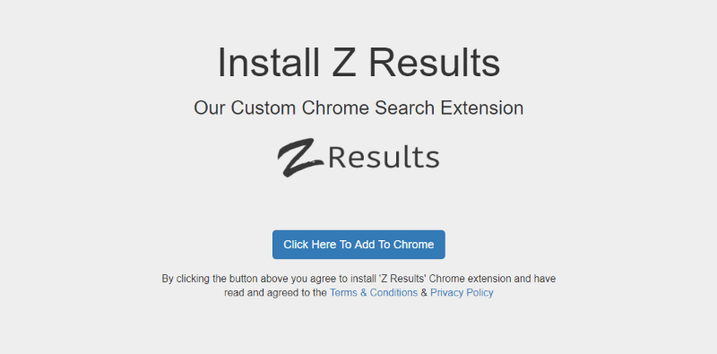 Z-results extension