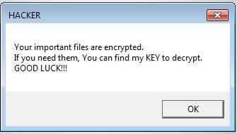 DDE Ransomware