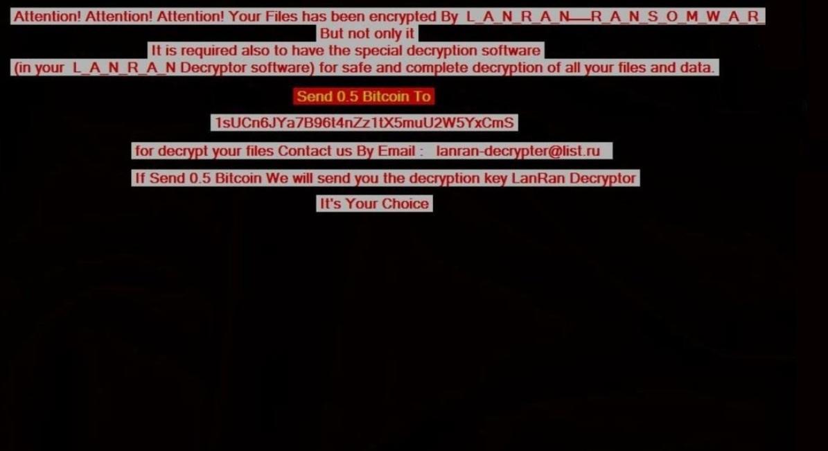 LanRan-2 Ransomware