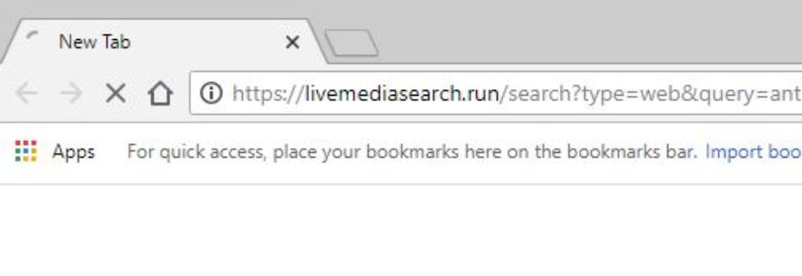 Livemediasearch.run Adware