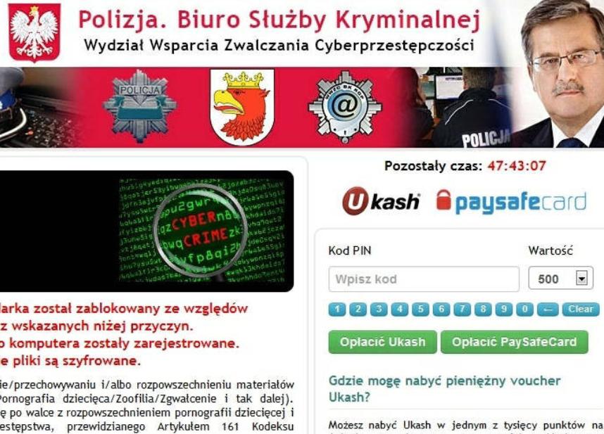POLICJA!!! Ransomware