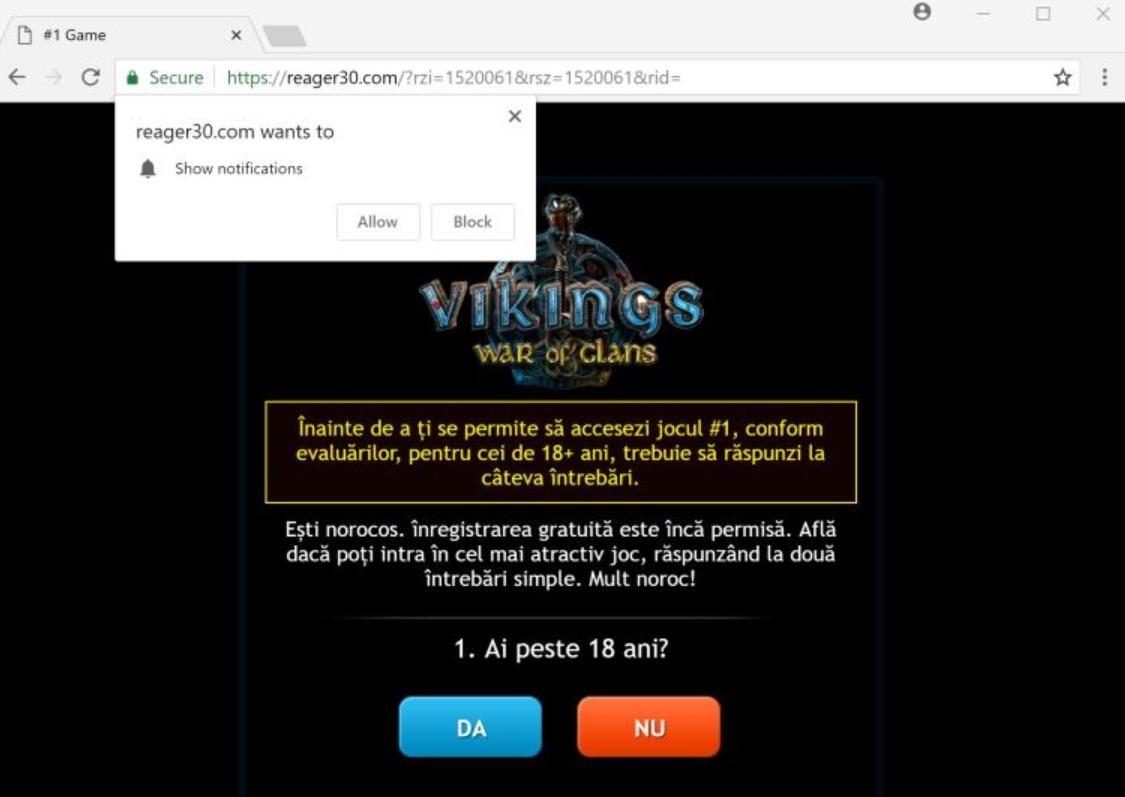 Reager30.com Adware