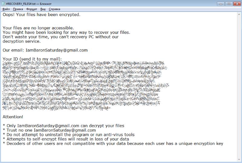 NANO ransomware