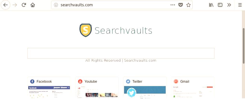SearchVaults Search hijacker