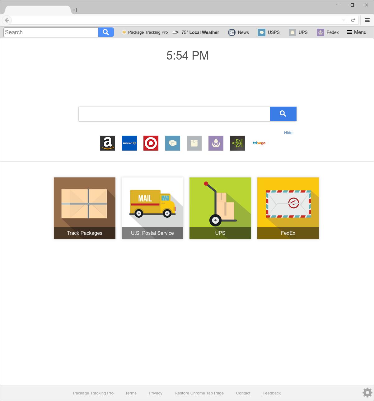 Search.searchm3p.com hijacker