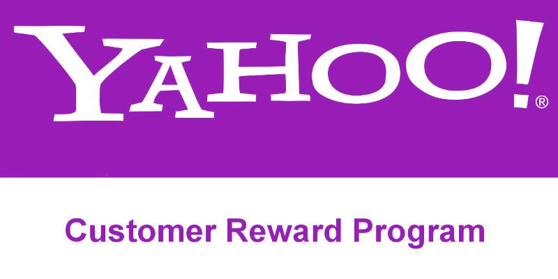 Yahoo customer reward program