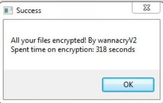 AutoWannaCryV2 ransomware