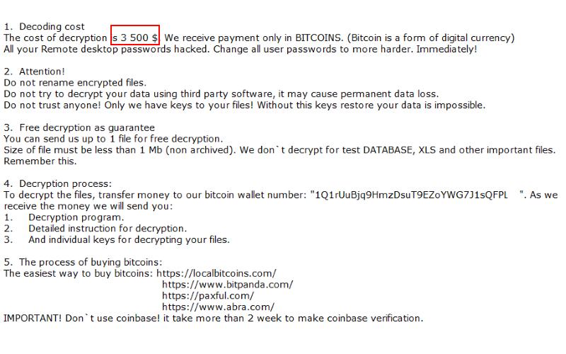 remove Combo ransomware