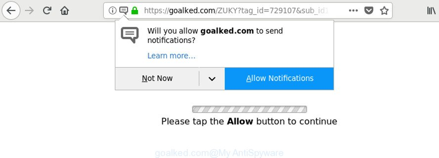 remove Goalked.com