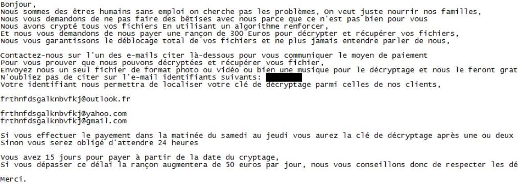 JobCrypter Ransomware