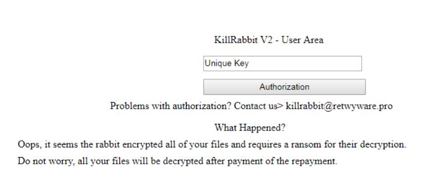 KillRabbit ransomware