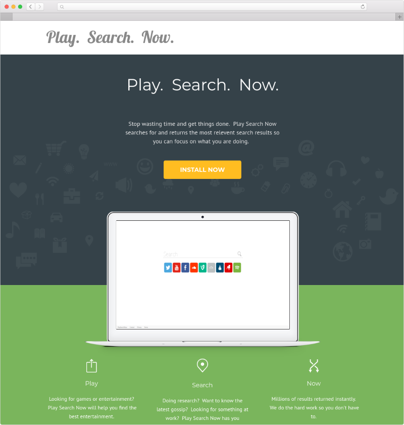 Play Search Now (Mac)