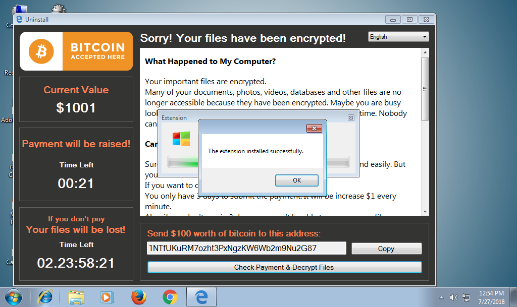 Xlockr Ransomware