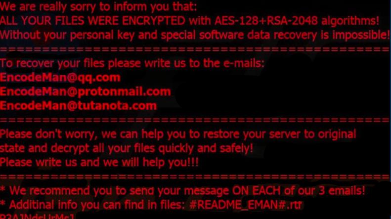 EMAN Ransomware