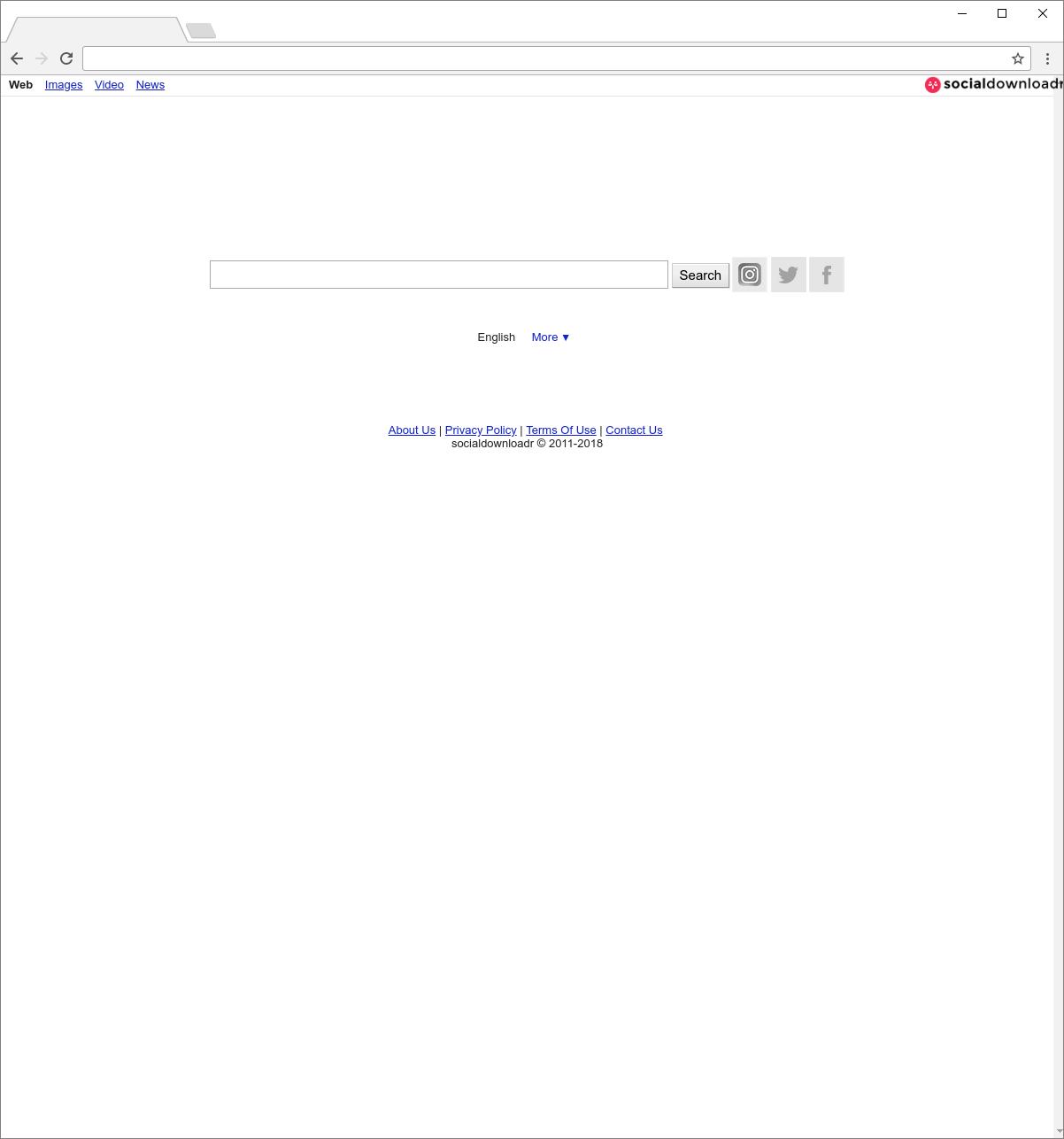 Search.socialdownloadr.com Hijacker