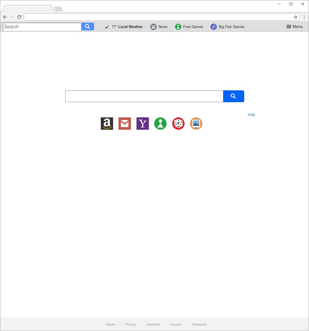 Search.pa-cmf.com hijacker