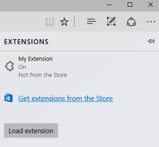 Edge extensions