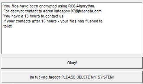 InducVirus Ransomware
