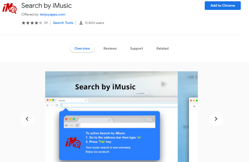 Search by iMusic