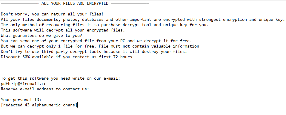 Adobee Ransomware Ransomware