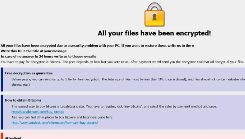 Bizer Ransomware