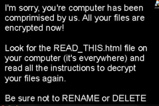 TrumpHead Ransomware notes