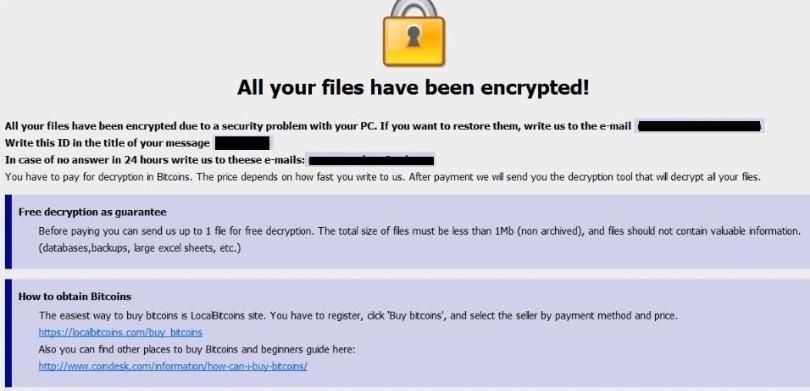Air Ransomware Ransomware