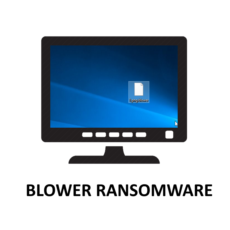 how to delete Blower Ransomware and decrypt .Blower files