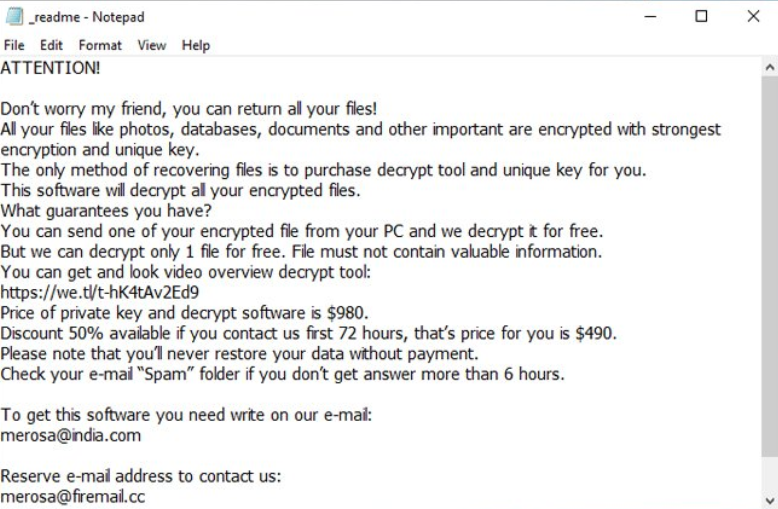 Grovas Ransomware Ransomware