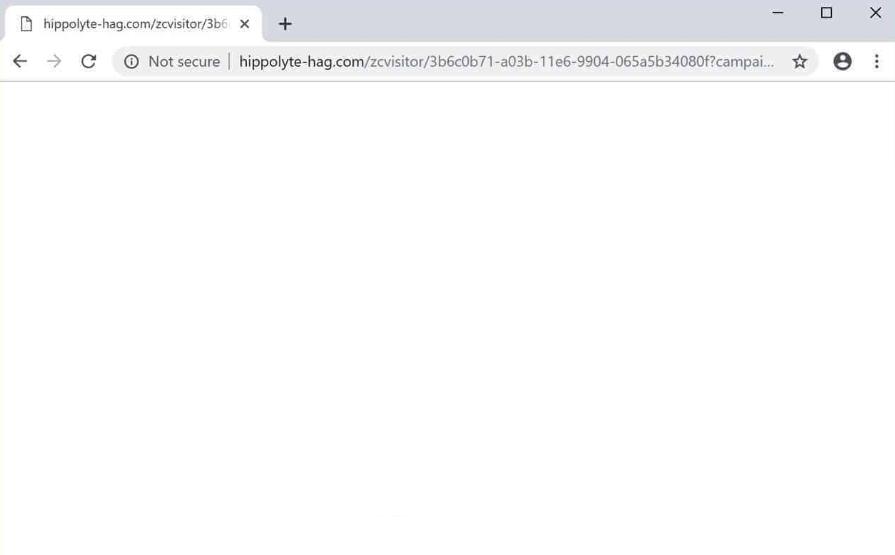 Hippolyte-hag.com pop-ups adware