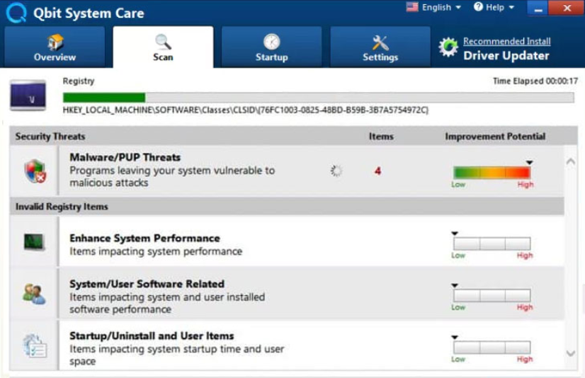 Remove Qbit System Care app