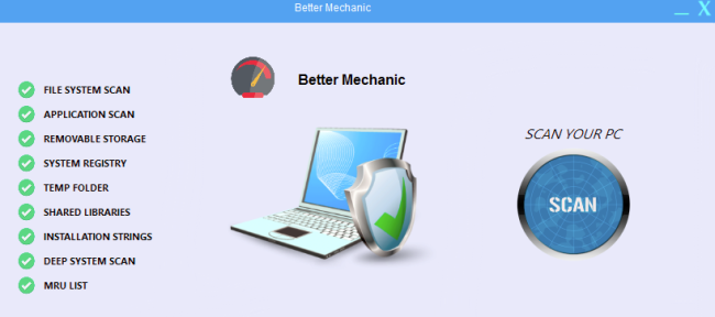 How to remove Malware: Better Mechanic
